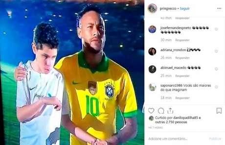 O Brasil entra em campo novamente na próxima quarta-feira, em partida contra o Peru (Instagram)