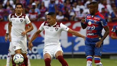 Gilberto voltou ao time titular do Fluminense neste sábado (Foto: LC Moreira/Lancepress!)