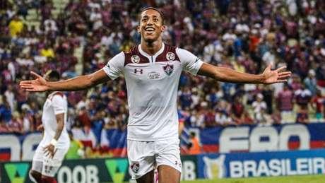 João Pedro marcou o gol da vitória do Fluminense (Ronaldo Oliveira/Photo Premium/Lancepress!)
