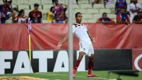 João Pedro fez o gol da vitória e quebrou um jejum de nove jogos sem marcar (Foto: Lucas Merçon/Fluminense)