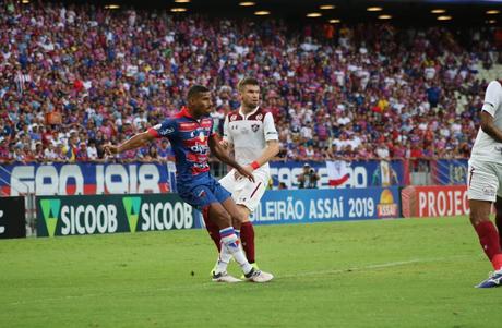 Fluminense venceu o Fortaleza em pleno Castelão (Foto: Leonardo Moreira/Fortaleza EC)