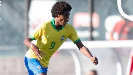 Talles Magno fez gol em empate da seleção brasileira sub-17 com a Inglaterra