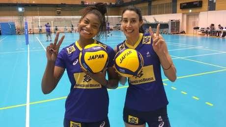 Seleção brasileira feminina de vôlei iniciou em Tóquio a preparação para a Copa do Mundo da modalidade