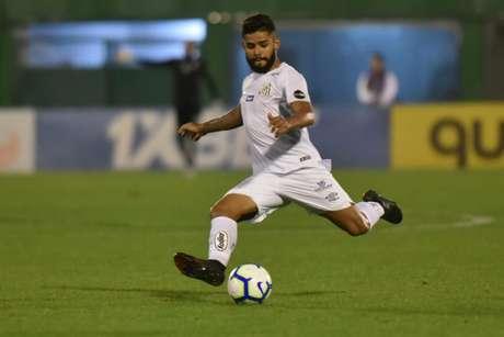 Felipe Jonatan vê jogo contra o Athletico-PR na Vila Belmiro como decisivo (Ivan Storti/Santos)