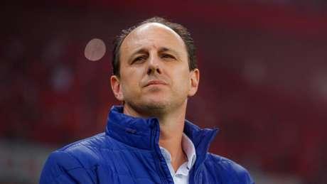 Rogério Ceni venceu o Santos por 2 a 0 na primeira partida em que comandou o Cruzeiro (Vinnicius Silva/Cruzeiro)