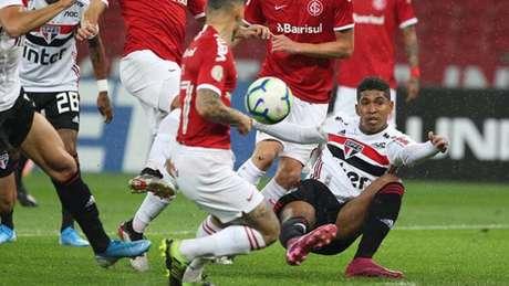 São Paulo está há três jogos sem marcar no Brasileirão (Foto:Rubens Chiri / saopaulofc.net)