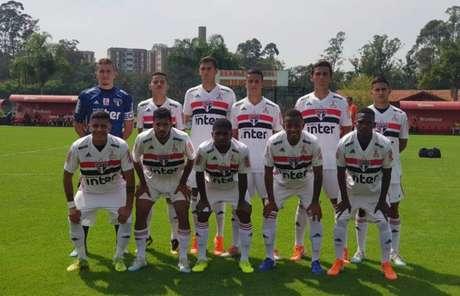 São Paulo sub-20 venceu o Inter pelo Brasileirão da categoria (Foto:Renata Lutfi/Saopaulofc.net)