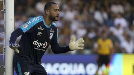 Léo se destacou na partida contra o Santos (Ivan Storti/Santos)