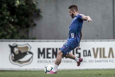 Lucas Venuto estreou na tarde deste domingo, no empate em 1 a 1 contra o Athletico (Foto: Ivan Storti)