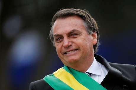 Bolsonaro participa de desfile do 7 de Setembro em Brasília 7/9/2019 REUTERS/Adriano Machado
