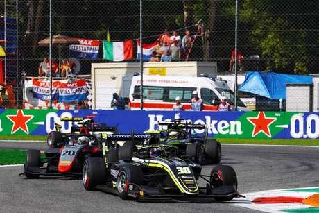 Felipe Drugovich marca participação na 7ª etapa da Fórmula 3 FIA com mais de 20 ultrapassagens