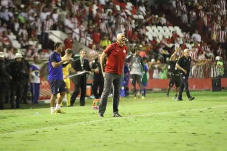 Dal Pozzo rebateu as críticas de Hélio do Anjos, que disse que a partida havia sido comprada. (Foto: Léo Lemos/CNC)