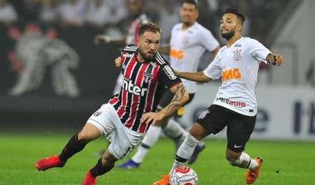 Willian Farias fez apenas sete jogos pelo São Paulo desde que chegou ao clube (Foto: Rubens Chiri/São Paulo)