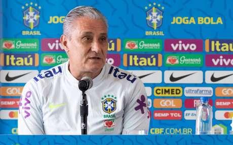 Tite acredita em foco máximo do Peru diante do Brasil, na madrugada desta terça-feira (Foto: Lucas Figueiredo/CBF)