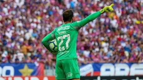 Muriel fechou o gol contra o Fortaleza (Divulgação/CBF)