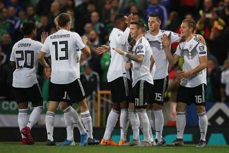 Alemanha conseguiu vitória importante (Foto: Reprodução)