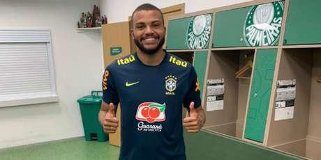 Zagueiro Hiago foi convidado para treinar com a Seleção Brasileira sub-23 e aprovou a experiência (Arquivo Pessoal)