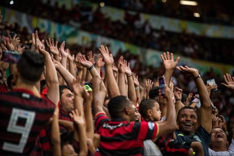O Flamengo tem a maior média de público do Brasileirão 2019 (Foto: Alexandre Vidal/Flamengo)