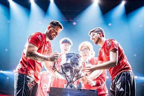 Flamengo foi o campeão do CBLoL em 2019