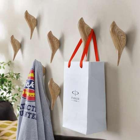33. Gancho de parede com design de passarinhos. Fonte: Banggood