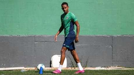 João Pedro acredita em vitória do Fluminense sobre o Palmeiras (Foto: Lucas Merçon/FFC)