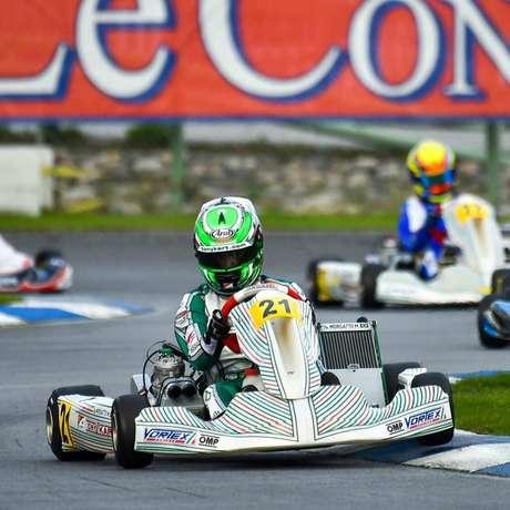 Matheus Morgatto conquista quatro top-5 no Mundial de Kart e fecha entre os 10 melhores na Finlândia