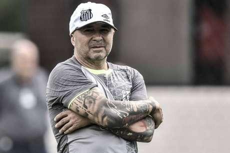 Santos quer Sampaoli até 2023 (Foto: Ivan Storti/Santos)