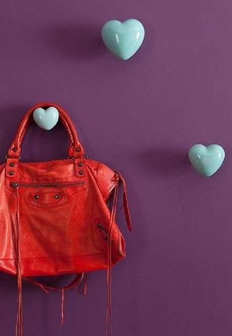 59. Gancho em formato de coração. Fonte: Pinterest