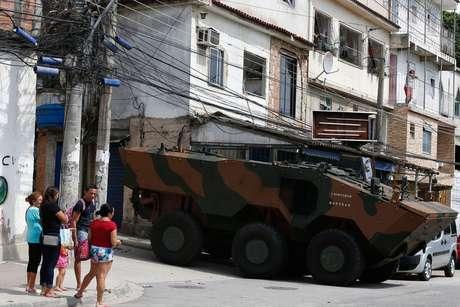 Rio de Janeiro teve uma intervenção na Segurança Pública em 2018