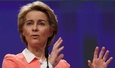 Presidente eleita da Comissão Europeia, Ursula von der Leyen 10/09/2019 REUTERS/Yves Herman