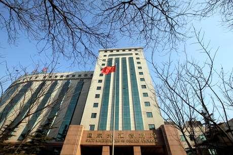 Prédio da Administração Estatal de Câmbio da China 11/02/2017 REUTERS/Jason Lee