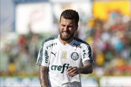 Lucas Lima não engrenou desde que chegou ao Palestra (Cesar Greco/Agência Palmeiras/Divulgação)