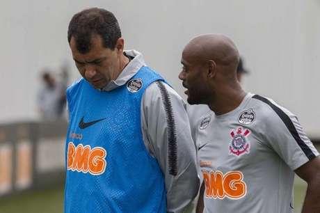 """Love pensa ser necessário """"fazer diferente nos próximos jogos"""" (Foto: Daniel Augusto Jr/Corinthians)"""