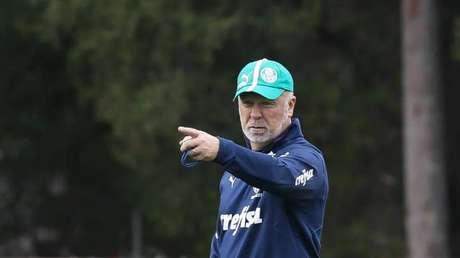 Mano comandará o Palmeiras no Allianz pela primeira vez (Foto: Cesar Greco/SEP)