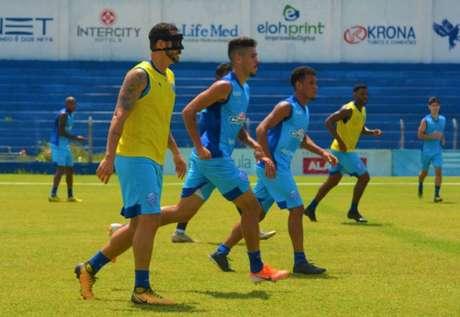 Na 18ª posição do Campeonato Brasileiro, o CSA enfrenta o São Paulo no próximo domingo, às 19h. (Foto: Augusto Oliveira/RCortez/Ascom CSA)