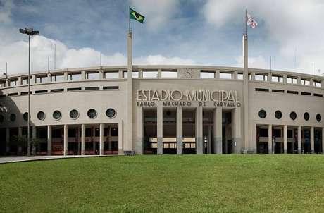 Presidente cogita Santos x Grêmio no Pacaembu (Foto: Divulgação)