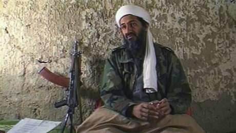 Osama Bin Laden declarou guerra aos EUA de uma caverna no Afeganistão