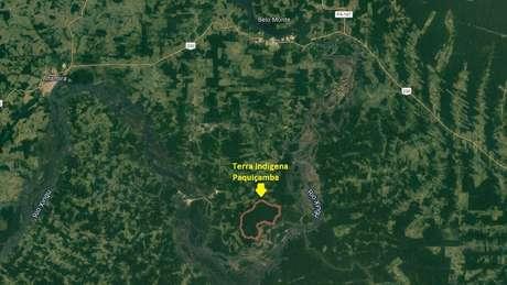 Terra Indígena Paquiçamba concentra parte da comunidade juruna que ficou na Volta Grande, região afetada pelo desvio das águas do Xingu para abastecer Belo Monte
