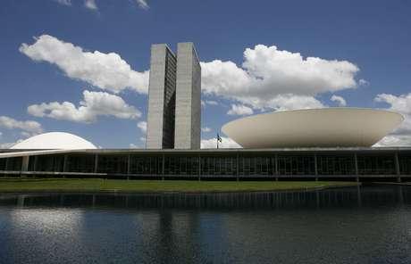 A fachada do Congresso Nacional, em Brasília