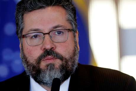 Chanceler Ernesto Araújo 05/09/2019 REUTERS/Adriano Machado