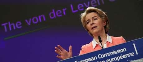 Von der Leyen será ainda a primeira mulher a ocupar o cargo de presidente da Comissão Europeia
