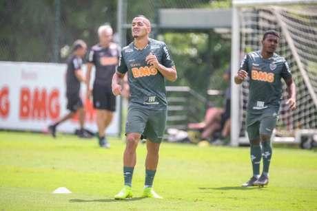 Papagaio, que não vem jogando com frequência, ficará de fora do duelo contra o Internacional, pelo Brasileiro, no domingo- (Bruno Cantini/Atlético-MG)