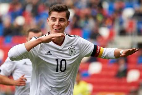 Kai Havertz é uma das principais revelações do futebol alemão atual (Foto: AFP)