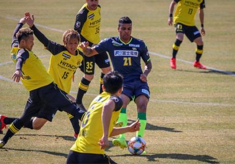 Alan Pinheiro quer subir para a primeira divisão do Campeonato japonês com o Chiba (Foto:Divulgação)
