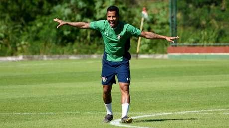 Allan fez falta ao Fluminense nos dois últimos jogos (Foto: Mailson Santana/Fluminense)
