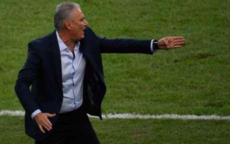 Tite está há 44 jogos no comando da Seleção Brasileira | (Foto: MAURO PIMENTEL / AFP)