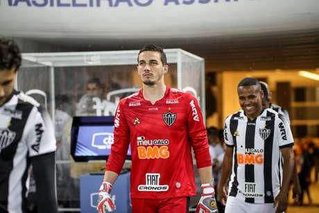 Cleiton passou por um forte teste emocional nos últimos dias- (Foto: Bruno Cantini / Atlético)