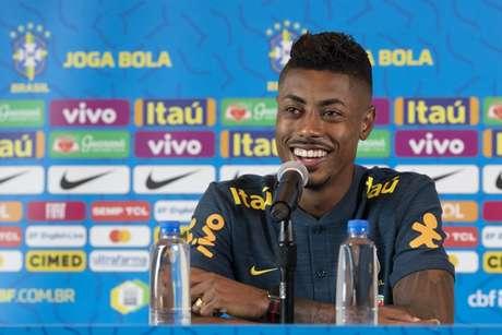 Em grande fase no Flamengo, Bruno Henrique foi convocado pelo técnico Tite (Foto: Lucas Figueiredo/CBF)