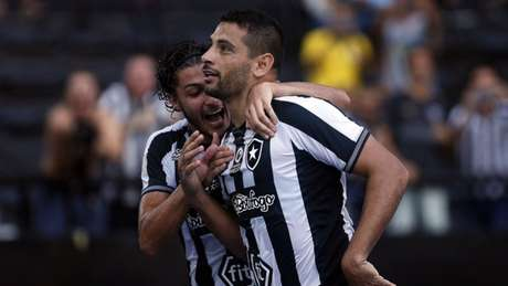 Camisa 7 fez gol na vitória sobre o Atlético-MG (Foto: Divulgação/Botafogo)