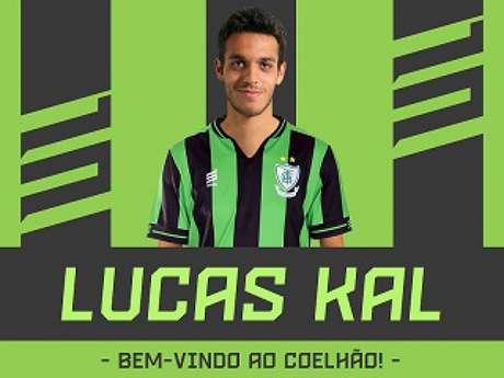 Lucas Kal será mais um reforço para o time mineiro que busca confirmar a recuperação na Série B- (Divulgação/América-MG)
